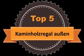 Top 5 – Kaminholzregal außen