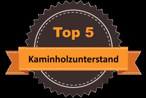 Top 5 – Kaminholzunterstand