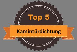 Top 5 – Kamintürdichtung